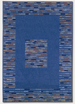 Couristan Metropolis 5174/4286 Frequency/Blue Closeout Area Rug