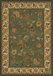 United Weavers Horizons 520 30445 Amanda Green Closeout Area Rug