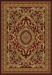 United Weavers Horizons 520 30634 Fresco Burgundy Closeout Area Rug
