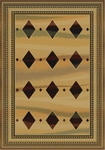 United Weavers Horizons 520 31526 Jaded Diamonds Beige Closeout Area Rug