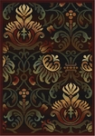 United Weavers Horizons 520 31672 Arabesque Ebony Closeout Area Rug