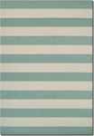 Couristan Afuera 5229/8003 Yacht Club Sea Mist/Ivory Area Rug