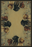 United Weavers Hautman 532 40617 Labs In Marsh Natural Closeout Area Rug