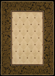 United Weavers China Garden 550 10297 China Vase Linen Area Rug