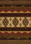 United Weavers China Garden 550 31058 Southwest Wind Auburn Area Rug