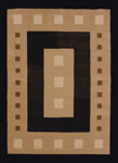 United Weavers China Garden 550 31970 Mystic Square Black Closeout Area Rug