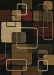 United Weavers China Garden 550 32270 Jazz Black Area Rug