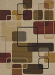 United Weavers China Garden 550 32297 Jazz Linen Area Rug