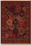 Couristan Kashimar 5607/1872 Ardibel Panel Antique Red/Multi Closeout Area Rug - Spring 2015