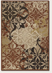 Couristan Urbane 5714/0136 Gatesby Tan/Terra-Cotta Closeout Area Rug - Spring 2016