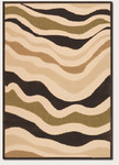 Couristan Urbane 5729/0029 Heat Wave Sand/Brown Closeout Area Rug - Spring 2011