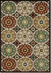 Couristan Urbane 5755/0224 Dumont Brown/Multi Closeout Area Rug - Spring 2016