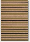 Couristan Urbane 5779/3079 Light Rail Tan/Chocolate Closeout Area Rug - Spring 2014