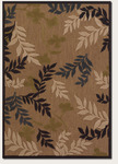 Couristan Urbane 5780/0011 Fairview Tan/Charcoal Closeout Area Rug - Spring 2014
