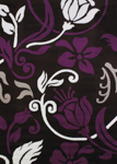 United Weavers Cristall 580 10382 Chivas Plum Area Rug