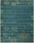 Feizy Qing 6064F Teal Closeout Area Rug