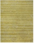 Feizy Qing 6064F Yellow Closeout Area Rug