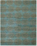 Feizy Qing 6065F Teal Closeout Area Rug