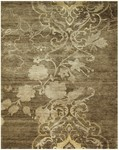 Feizy Qing 6067F Brown Closeout Area Rug