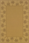 Oriental Weavers Lanai 606D7 Brown Area Rug
