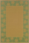 Oriental Weavers Lanai 606F6 Green Area Rug