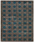 Feizy Dim Sum 6071F Azure Closeout Area Rug