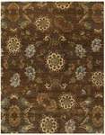 Feizy Amzad 6113F Brown Closeout Area Rug