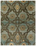 Feizy Amzad 6116F Azure Closeout Area Rug