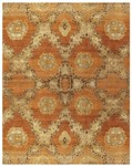 Feizy Amzad 6116F Rust Closeout Area Rug