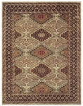 Feizy Ashi 6127F CMLBRN Camel Brown Closeout Area Rug