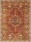 Feizy Ashi 6128F RST Rust Area Rug