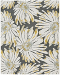 Feizy Bleecker 3611F Gris Closeout Area Rug