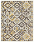 Feizy Thatcher 3667F Maize Closeout Area Rug