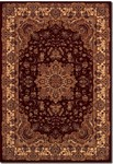 Couristan Himalaya 6289/4783 Annapurna Antique Cream/Persian Red Closeout Area Rug - Spring 2017