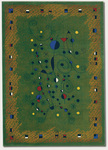 Couristan Metropolis 6308/8082 Constellation/Green Closeout Area Rug