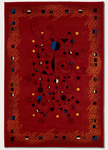 Couristan Metropolis 6308/8260 Constellation/Red Closeout Area Rug