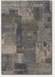 Couristan Easton 6387/5685 Abstract Mural Stucco Closeout Area Rug