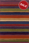 Oriental Weavers Andy Warhol Pop Abstracts 638X Fancy Yarn Multi Closeout Area Rug