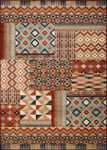 Couristan Solace 6484/0375 Semiarid Red-Rust-Sand Closeout Area Rug