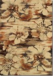 Couristan Easton 6597/3848 Mosaic Florals Multi Closeout Area Rug