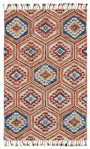 Feizy Abelia 8671F Gold/Orange Area Rug