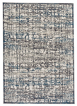 Feizy Akhari 3677F Gray/Turquoise Area Rug