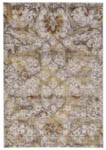 Feizy Cannes 3685F Gray/Yellow Area Rug