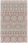 Feizy Primrose 8574F Dusty/Pink Area Rug