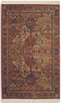 Karastan Original Karastan 700-717 Multicolor Panel Kirman Area Rug