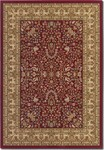 Couristan Izmir 7018/2000 Floral Mashhad Red Area Rug