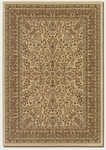 Couristan Izmir 7018/3000 Floral Mashhad Ivory Closeout Area Rug