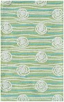 Rug Market Kids Tween 71133 Rosalita Green/White/Teal Area Rug