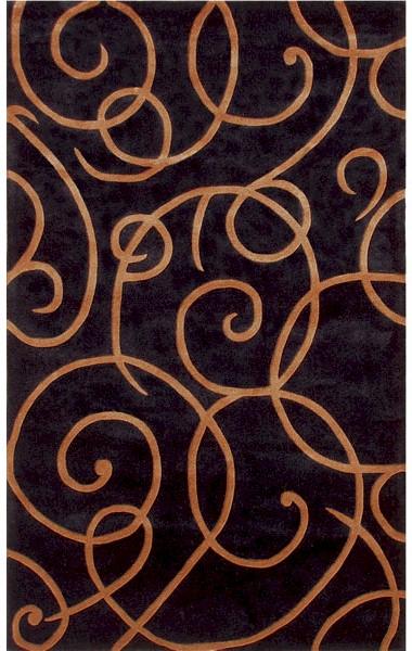 Rug Market Ecconox 72294 Barney S Black Copper Closeout