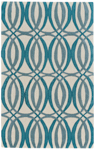 Feizy Haute Trends JVT 8498F Globe Closeout Area Rug